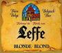 Пиво бельгийское светлое аббатское Леф Блонд / (Лёф) (Leffe Blonde)