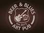 B&B Honey — светлое медовое пиво сваренное в мини-пивоварне «Beer & Blues» в Виннице