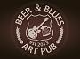 B&B Dark — темное пиво низового брожения сваренное в мини-пивоварне «Beer & Blues» в Виннице
