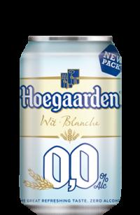 Hoegaarden 0.0% - бельгийское безалкогольное пшеничное пиво в Украине