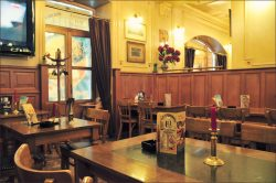 Ресторан Le Cosmopolite в Киеве. Третий зал