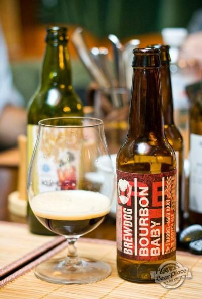 Дегустация пива Bourbon Baby от BrewDog