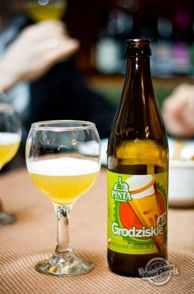 Дегустация польского пива PINTA Grodziskie 4.0