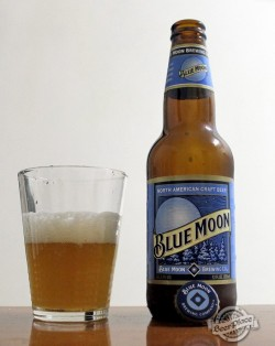 Дегустация пива Blue Moon Belgian White