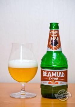 Дегустация пива Ведмідь Бурий світле