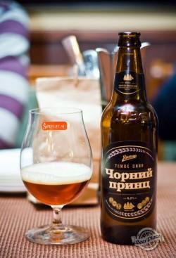 Дегустация пива Чорний принц от Янтаря