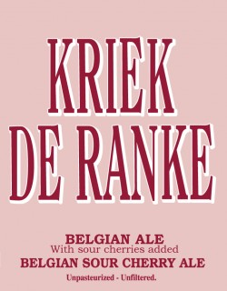Дегустация пива Kriek de Ranke