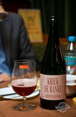 Дегустация пива Kriek de Ranke