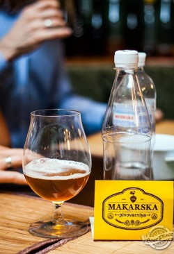 Дегустация пива MakBeer Пшеничное со специями