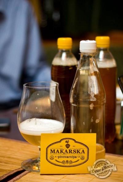 Дегустация пива MakBeer Легкий лагер