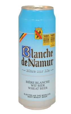 Акция на баночный Blanche de Namur в Сильпо