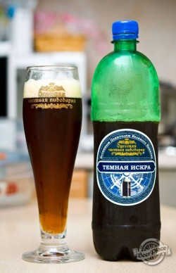Дегустация пива Черная искра от Одесской частной пивоварни