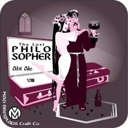 Kelpie Oatmeal Stout и The Lost Philosopher VIII - новинки от Mad Brewlads