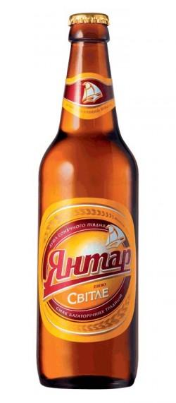 Новая рецептура пива Янтарь Светлое