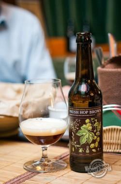 Дегустация пива Fresh Hop Brown