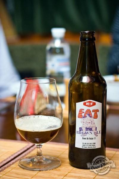 Дегустация пива Fat Girlfriend Brown ale от K&F Brewery