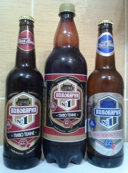 Новые сорта Пивоварня №1 от Оболони для сети АТБ