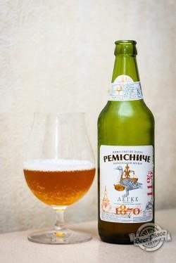 Дегустация пива Ремісниче Легке из Калуша