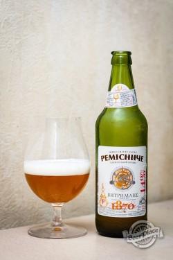 Дегустация пива Ремісниче Витримане из Калуша