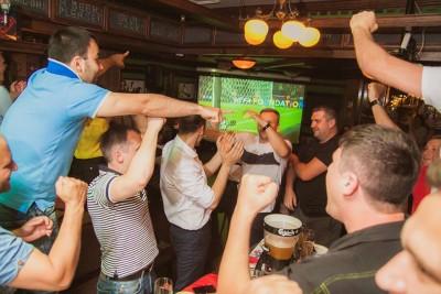 Лига Чемпионов в ирландском пабе To Dublin
