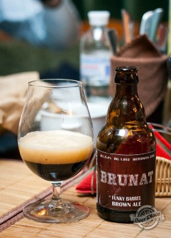 Дегустация пива Brunat Funky Barrel Brown Ale