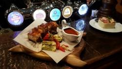 Пивная ресторация Эдисон. Киев. Блюда кухни