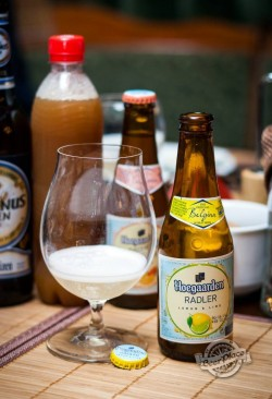 Дегустация Hoegaarden Radler Agrum и Hoegaarden Radler Lemon & Lime