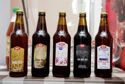 Wheat beer и Dark wheat beer - новые сорта от K&F Brewery