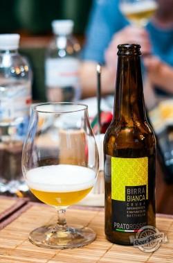 Дегустация пива Pratorosso Bianca