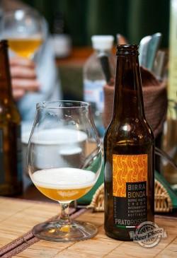 Дегустация пива Pratorosso Bionda