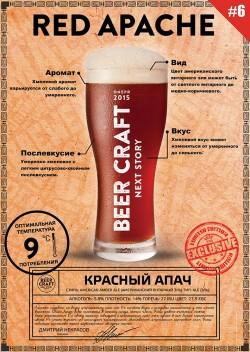 Red Apache — новый сезонный сорт от днепропетровской пивоварни Zip