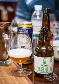 Дегустация пива Brewhops Імбирний ель