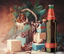 Christmas Bell - темное рождественское пиво от Оболони
