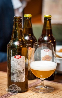 Дегустация пива Blanche Cloud от K&F Brewery