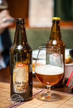 Дегустация пива Golden Rain от K&F Brewery