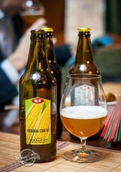 Дегустация пива Ukrainian corn ale от K&F Brewery
