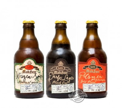 Пиво от Макарской пивоварни в стекле