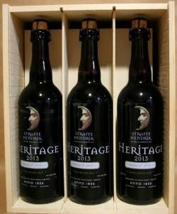 Три бутылки Straffe Hendrik Heritage 2013 от BeerShop.com.ua