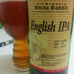English IPA и English Pale Ale от White Rabbit
