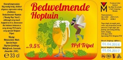 Hoptuin Bedwelmende Hoptuin - новинка от Mad Brewlads