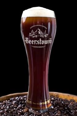 Black coffee stout от донецкой пивоварни Beerstown