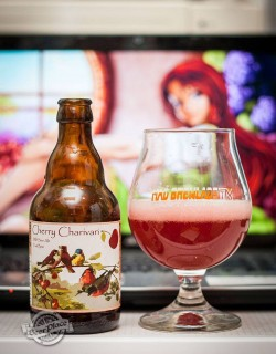 Дегустация пива Cherry Charivary от Mad Brewlads