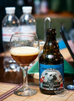 Дегустация пива Dark Strong Ale Dogs&Tails