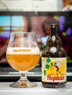 Дегустация Hoptuin IPA Witte от Mad Brewlads