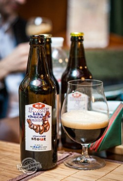 Дегустация F…ck Like Chocolate Rabbit Chocolate Stout от K&F Brewery
