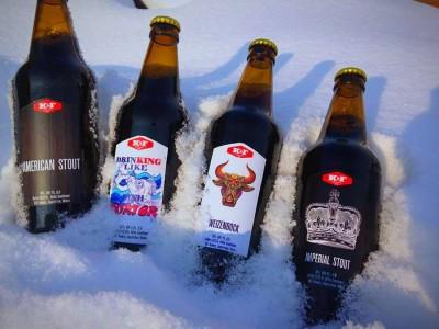 Новинки от K&F Brewery и White Rabbit