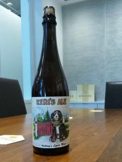 Keri's Ale - новое траппистское пиво от Spencer Brewery
