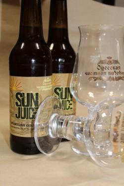 Sun juice - новый сезонный сорт от Одесской частной пивоварни