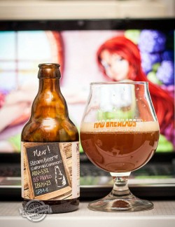 Дегустация пива Steam Beer от Mad Brewlads