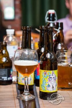 Дегустация пива Hopster IPA из Чернигова